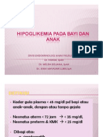 Mk End Slide Hipoglikemia Pada Bayi Dan Anak