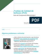 PCS - C - Gua - Pruebas de Calidad de Software - Presentacin - 2011 04 18