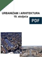 Urbanizam i Arhitektura 19. St.