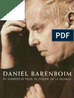 El Sonido Es Vida El Poder de La Musica - Barenboim