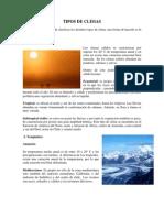 TIPOS DE CLIMAS Y ESTACIONES DEL AÑO