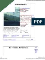The Barometric Formula V2