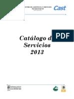 Catalogo de Servicios 2013