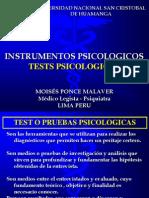 Clase II Instrumentos Psicologicos