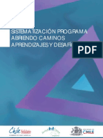 Sistematizacion Programa Abriendo Caminos