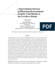 The Interrelations Between Genotype Fenotype & Enviroment Evo Devo Debate