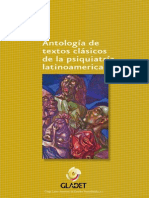 AAVV - Antología - Textos clasicos de lapsiquiatra latinoamericana