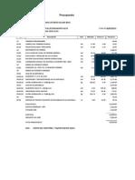 Presupuesto Alcantarilla
