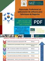 Diplomado Profesional en Aplicaciones de Software Para Soluciones de Negocios