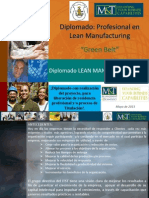 Diplomado Profesional en Lean Manufacturing