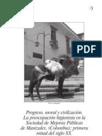 Progreso, moral y civilización. La preocupación higienista en Manizales, Colombia.