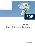 Atlasti v7 Manual