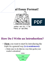 Essay Structure 28