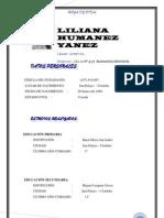 Hoja de Vida Liliana Maria Humanez Yanez