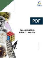 Solucionario Ensayo MT - 024 2013 OK