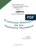 Derechos Humanos Trabajo Semipresencial