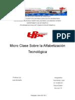 Trabajo de Micro Clase