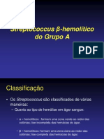 Streptococcus β-hemolítico do Grupo A