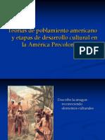 Poblamiento y Etapas Culturales Del Continente Americano
