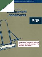 1990  Maña, F. ITEC- Recalçament de fonaments