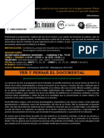 Seminario Ver y Pensar El Documental