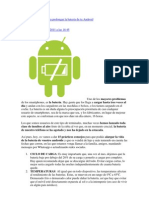 15 consejos y trucos para prolongar la batería de tu Android