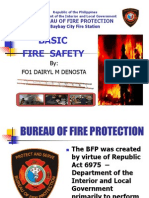 Fire Safety Lecture- Caridad