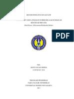 Peneletian Kualitatif (Accessibiliti sumber belajar siswa)