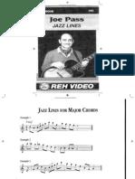 Joe Pass - REH Jazz Lines Booklet