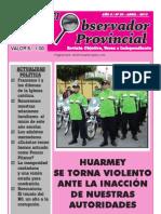 Observador Provincial - Abril 2013