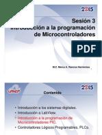 Sesión 3 Introduccion a Microcontroladores