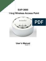 EAP 3660 UsersManual V1 1