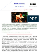 Violc3a3o Clc3a1ssico Prof Juarez Barcellos1