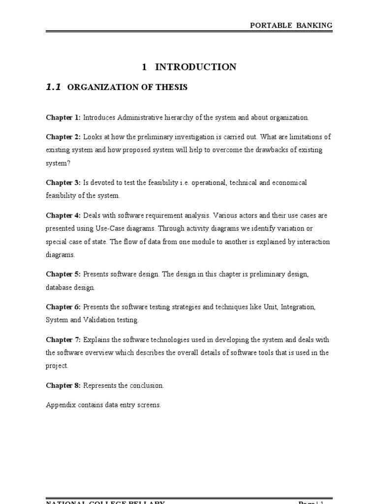 chapter 4 thesis online reservation system