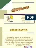 Coadyuvantespao (Tipos Dolores)
