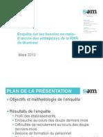 Enquête SOM Besoins Main Oeuvre Entreprises Mars2013
