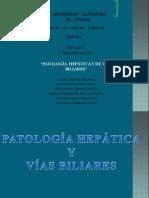 Patologia Hepatica y de Vias Biliares