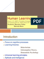 Human Learning 4