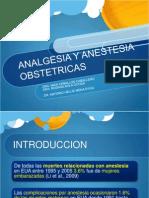 Analgesia y Anestesia