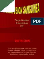 Transfusion Sanguinea