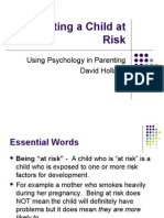 Parenting a Child at Risk1