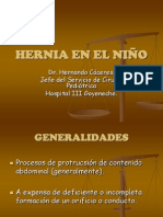 HERNIA EN EL NIÑO- Dr H. Cáceres
