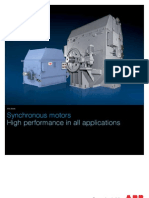 ABB Synchronous Motors