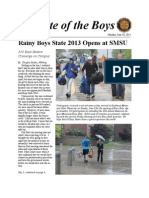 State of the Boys 2013 - Monday Issue