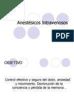 Anestesicos Intravenosos