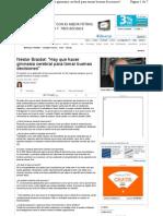 Néstor Braidot - Hay que hacer gimnasia cerebral para tomar buenas decisiones