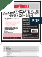 FarmWorks 41 Glyphosate Plus Concentrate