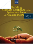 ADB Building Climate Resilience Agriculture Sector