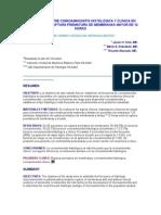 CORRELACION ENTRE CORIOAMNIONITIS HISTOLÓGICA Y CLÍNICA EN PACIENTES CON RUPTURA PREMATURA DE MEMBRANAS MAYOR DE 12 HORAS