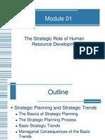 The Strategic Role of Human Resource Development